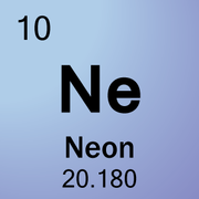 neon is a chemical element with symbol ne and atomic number 10 it is in group 18 noble gases of the periodic table this was discovered along with - Periodic Table Of Elements Neon